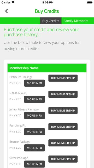 NAMA Fitness screenshot 4