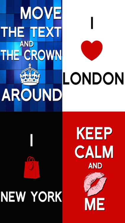 Keep Calm & Carry On:Original