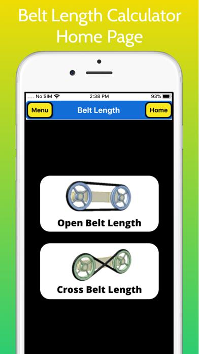 Belt Length Calculator Pro screenshot 1