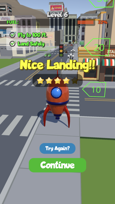 Perfect Lander screenshot 2