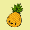 download Pineapple Fruity Stickers