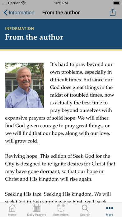 Seek God for the City 2020 screenshot 4