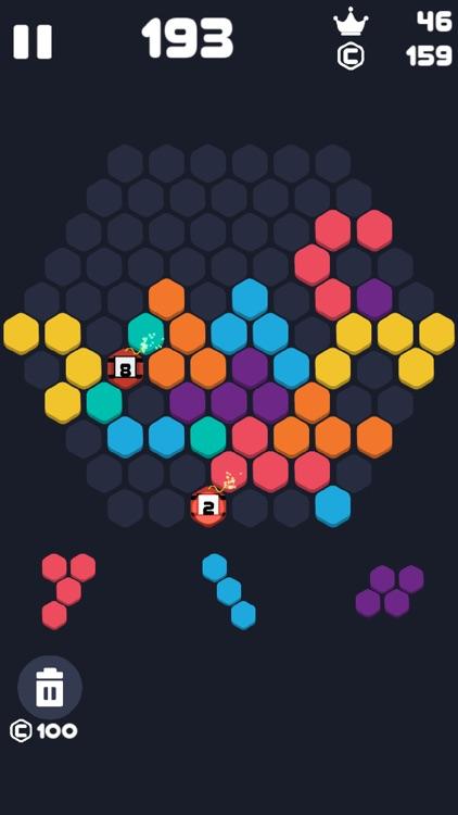 Hex Fill : 1010 Blocks Puzzle screenshot-4
