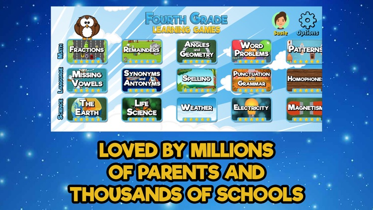 Fourth Grade Learning Games SE