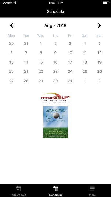 Synergistic Golf screenshot-3