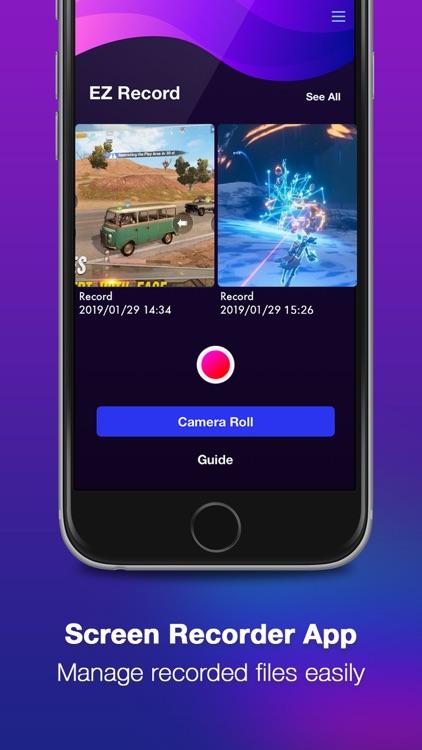 EzRecord: Game Screen Recorder