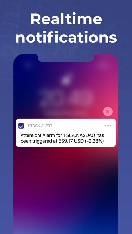 Stock Alert - Stocks tracker screenshot-2