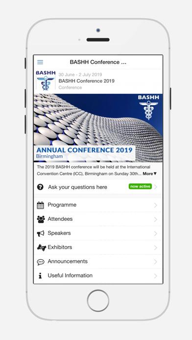 BASHH Conference 2019 - 窓用
