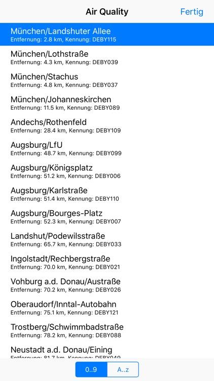 Umweltdaten screenshot-5