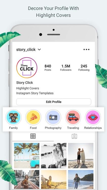 Story Click Insta Story Editor