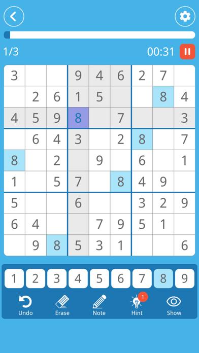 Sudoku: Brain Puzzle Game screenshot 4