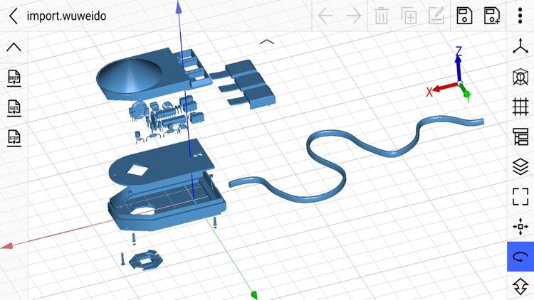 CAD 3D Modeling - Wuweido screenshot-8