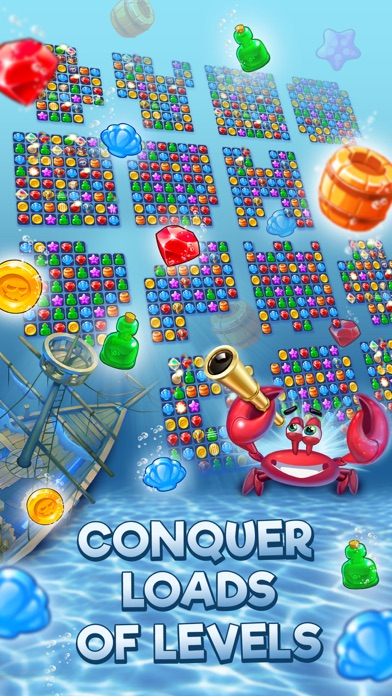 Pirates & Pearls: Match 3 Game screenshot 4