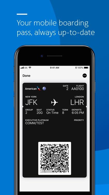 American Airlines screenshot-4