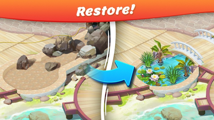Tropical Forest: Match 3 Mania screenshot-0