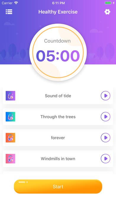 Healthy Exercise-Sleep Assist screenshot 1