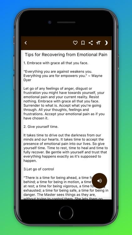Self Healing Guide screenshot-6
