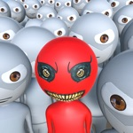 Red Alien - Shooting Games 3D