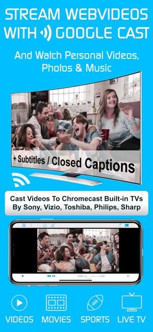 Video & TV Cast | Google Cast on the App Store