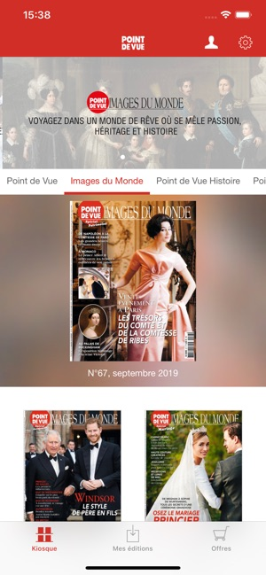 Point De Vue Magazine 'app Storeで