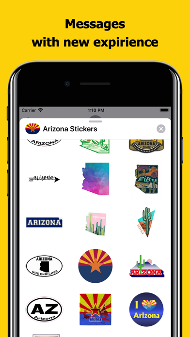 Arizona emojis - USA stickers screenshot 3