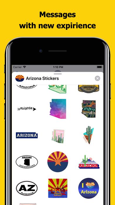 Arizona emojis - USA stickers screenshot 3