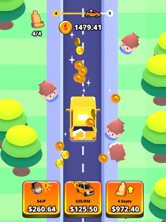 Idle Taxi screenshot 4