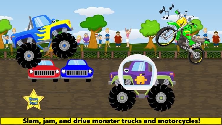 Monster Trucks Game Kids FULL screenshot-0