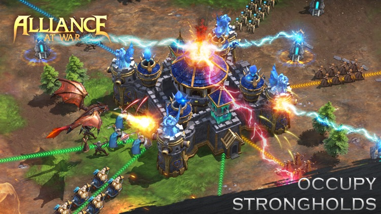 Alliance at war: magic throne