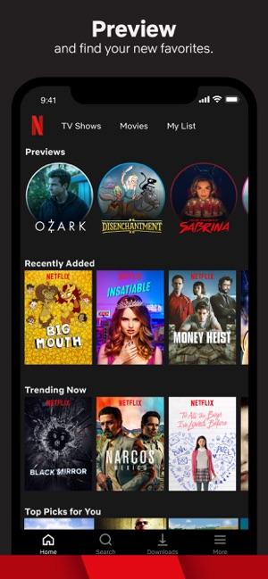 netflix movie wont download iphone