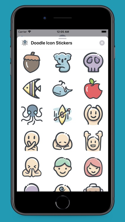 Doodle Icon Stickers