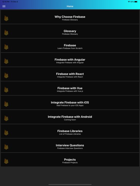 Learn Firebase [PRO] screenshot 14