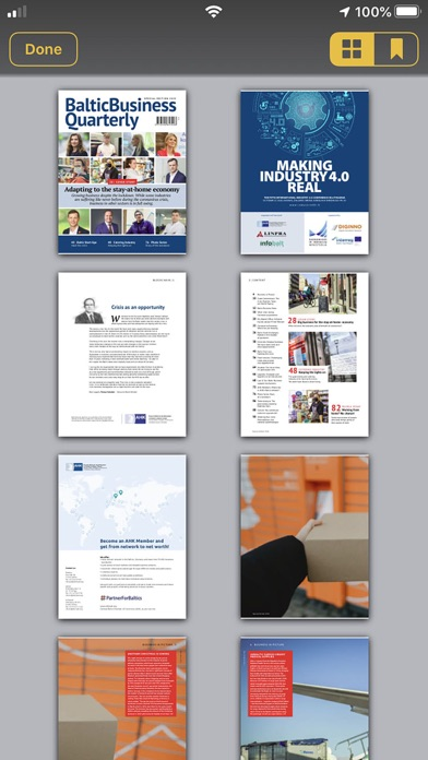 Baltic Business QuarterlyScreenshot of 4