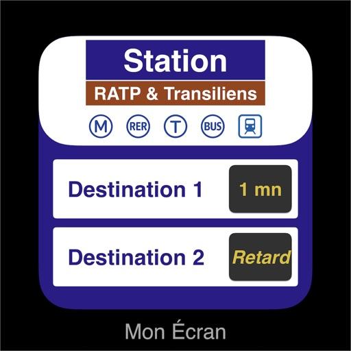 Mon Écran — RATP Schedules & +