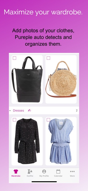 Pureple Outfit Planner on the App Store