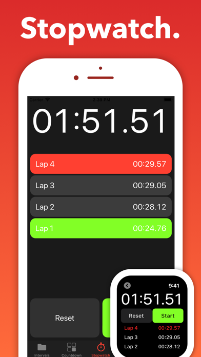 Seconds Pro Interval Timer review screenshots