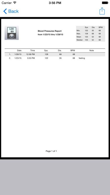 BP Recorder T. screenshot-4