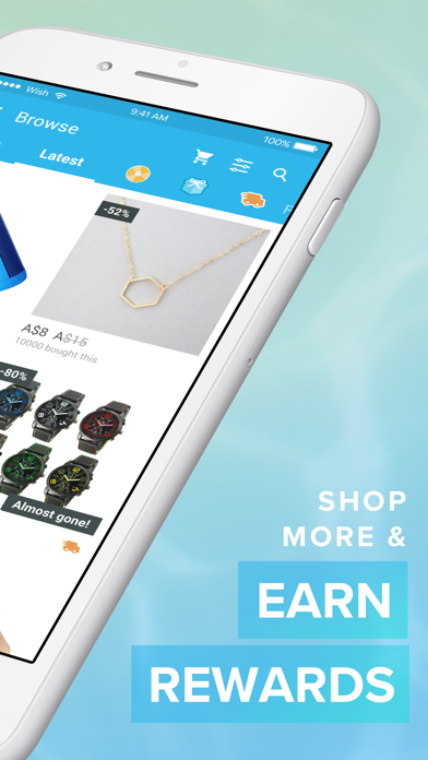 Screenshot for Wish - Shopping Made Fun in New Zealand App Store