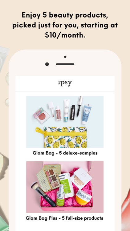 ipsy - Beauty, makeup & tips screenshot-2