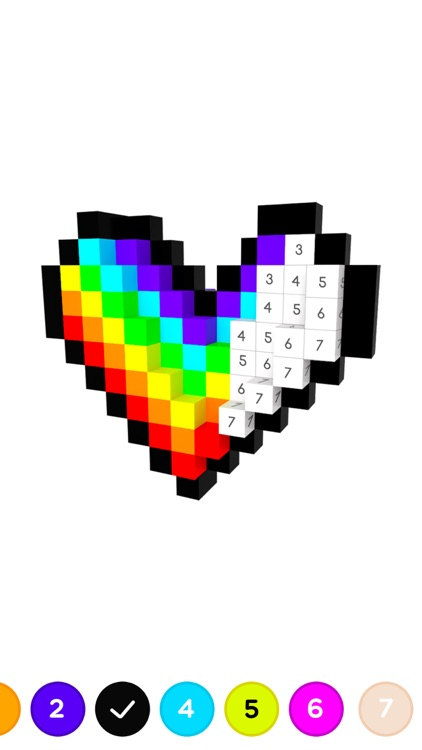 3D No.draw - Colors by number screenshot-3