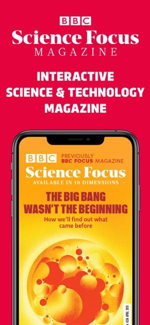 BBC Science Focus Magazine on the App Store