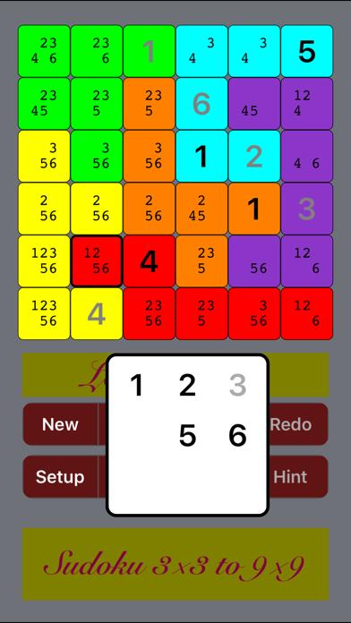 Logi5Puzz+ 3x3 to 16x16 Sudokuのおすすめ画像5