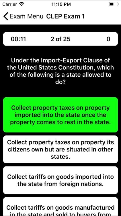 CLEP Business Law Prep 2020 screenshot-3