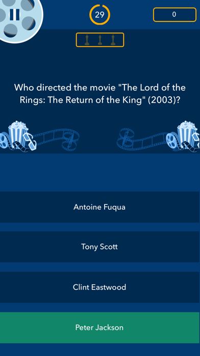 Trivial Movies Quiz screenshot four