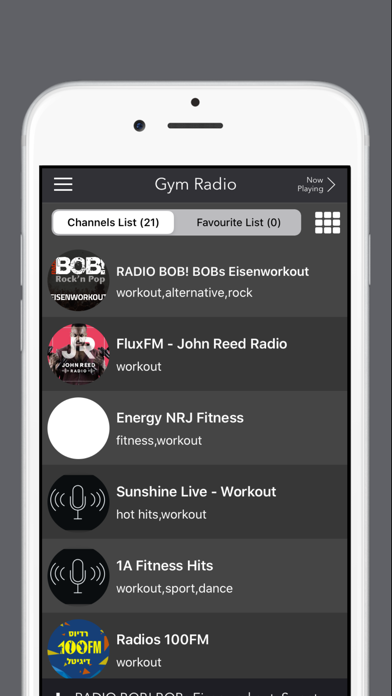 Gym Radio - Workout Music App screenshot three