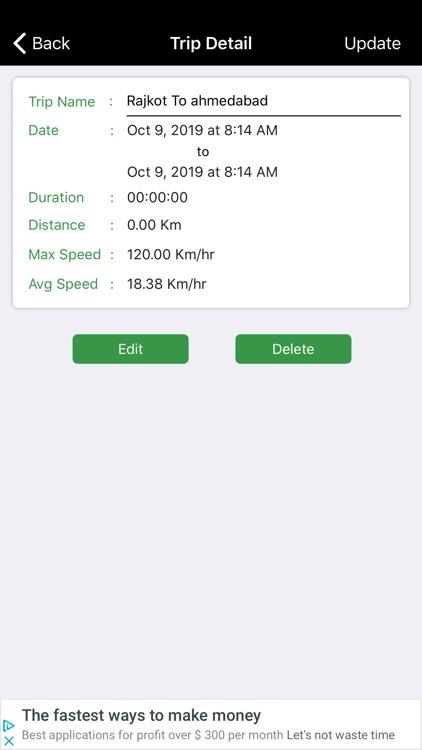 SpeedoMeter GPS - Odometer screenshot-4
