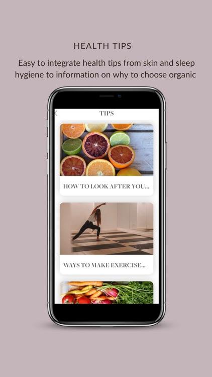 Healthy Luxe screenshot-4