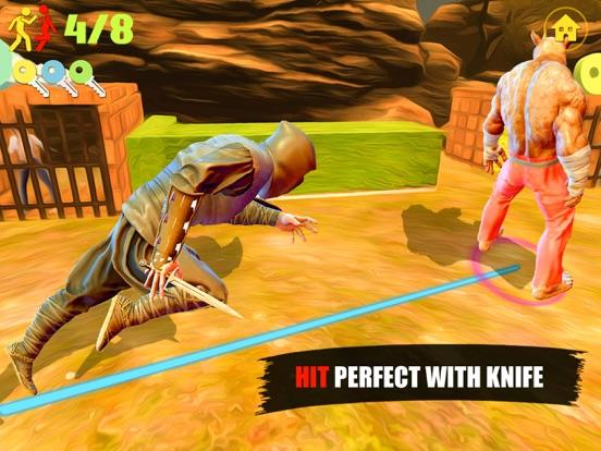 Ninja Assassin Knife Killer screenshot 9