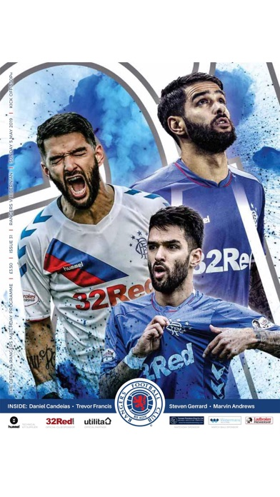 Rangers FC Digital Programme screenshot 1