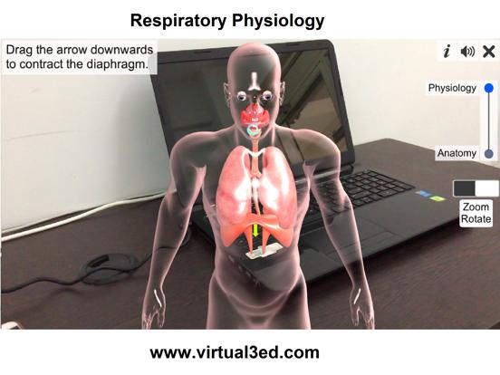 AR Respiratory system physiolo screenshot 11